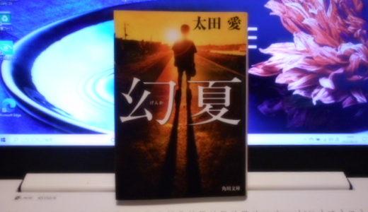 「幻夏」読書感想 著者 太田愛|少年の日のあの夏の思い出